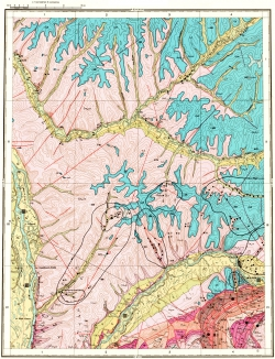 O-53-IV. Карта полезных ископаемых СССР. Серия Майская