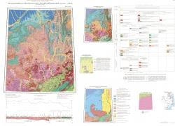 O-53 (Нелькан). Государственная геологическая карта Российской Федерации. Третье поколение. Дальневосточная серия