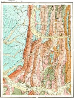 O-53-V. Карта полезных ископаемых СССР. Серия Майская