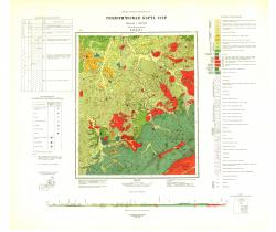 O-53-XXXV. Геологическая карта СССР. Серия Джугджурская.