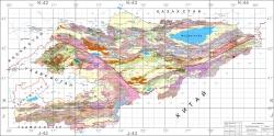Обобщение материалов по золотоносности Кыргызстана