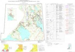 P-(35),36 (Петрозаводск) Государственная геологическая карта Российской Федерации. Третье поколение. Балтийская серия. Карта полезных ископаемых