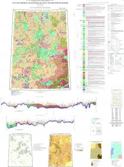 P-39 (Сыктывкар) Государственная геологическая карта Российской Федерации. Третье поколение. Мезенская серия. Карта четвертичных образований