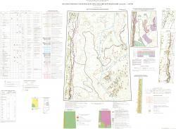 P-41 (Ивдель). Карта полезных ископаемых. Уральская серия. Третье поколение.