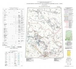 P-47 (Байкит) Государственная геологическая карта Российской Федерации. Третье поколение. Ангаро-Енисейская серия. Карта полезных ископаемых