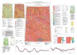 P-47 (Байкит) Государственная геологическая карта Российской Федерации. Третье поколение. Ангаро-Енисейская серия. Карта четвертичных образований