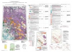 P-47 (Байкит) Государственная геологическая карта Российской Федерации. Третье поколение. Ангаро-Енисейская серия. Карта закономерностей размещения и прогноза полезных ископаемых