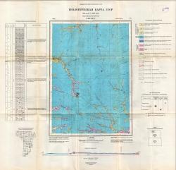 P-49-XXIV. Государственная геологическая карта СССР. Серия Верхневилюйская