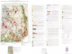 P-56 (Сеймчан). Государственная геологическая карта Российской Федерации. Карта закономерности размещения и прогноза полезных ископаемых. Третье поколение. Серия Верхояно-Колымская.