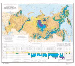 Петромагнитная карта геологических формаций России
