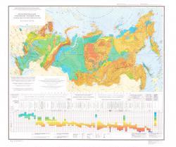 Петроплотностная карта геологических формаций России