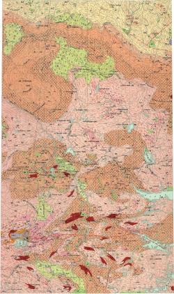 Q-36-VII. Геологическая карта СССР. Карельская серия