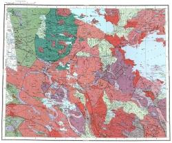 Q-36-XIX,XX. Геологическая карта СССР. Карельская серия