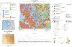 Q-36-XXI, XXII (Амбарный). Государственная геологическая карта Российской Федерации. Издание второе. Карельская серия