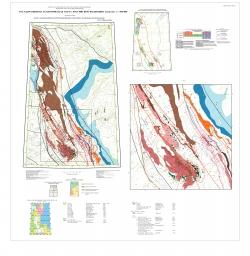 Q-39 (Нарьян-Мар) Государственная геологическая карта Российской Федерации. Третье поколение. Мезенская серия. Карта закономерностей размещения и прогноза полезных ископаемых