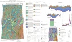 Q-40 (Печора). Государственная геологическая карта Российской Федерации. Третье поколение. Карта плиоцен-четвертичных образований. Уральская серия