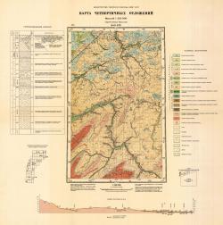 Q-41-XIX. Карта четвертичных отложений. Серия Северо-Уральская