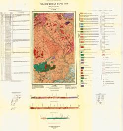 Q-42-VII. Геологическая карта СССР. Серия Северо-Уральская