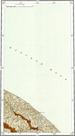 R-41-XXIII. Геологическая карта СССР. Серия Ново-Земельско-Пайхойская