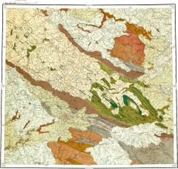 R-41-XXVII,XXVIII. Геологическая карта СССР. Ново-Земельско-Пайхойская серия