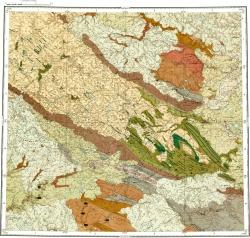R-41-XXVII,XXVIII. Карта полезных ископаемых СССР. Ново-Земельско-Пайхойская серия