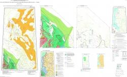 R-42 (п-ов Ямал) Государственная геологическая карта Российской Федерации. Третье поколение. Западно-Сибирская серия. Карта закономерностей размещения и прогноза полезных ископаемых
