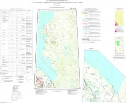 R-42 (п-ов Ямал) Государственная геологическая карта Российской Федерации. Третье поколение. Западно-Сибирская серия. Карта полезных ископаемых