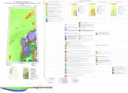 R-45 (Норильск) Государственная геологическая карта Российской Федерации. Третье поколение. Норильская серия. Геологическая карта дочетвертичных образований