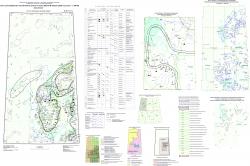 R-45 (Норильск) Государственная геологическая карта Российской Федерации. Третье поколение. Норильская серия. Карта полезных ископаемых