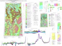 R-45 (Норильск) Государственная геологическая карта Российской Федерации. Третье поколение. Норильская серия. Карта четвертичных образований