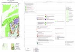 R-45 (Норильск) Государственная геологическая карта Российской Федерации. Третье поколение. Норильская серия. Карта закономерностей размещения и прогноза полезных ископаемых