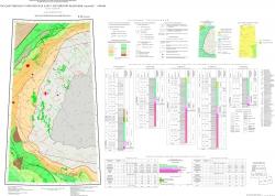 R-48 (Хатанга) Государственная геологическая карта Российской Федерации. Третье поколение. Анабаро-Вилюйская серия. Карта прогноза на нефть и газ