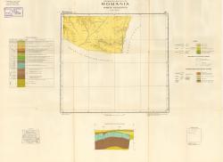 Republca socilista Romania, Harta geologica, K-35-V, Mangalia