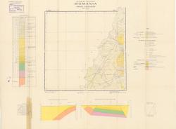 Republca socilista Romania, Harta geologica, L-34-X, Oradea