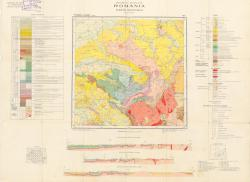 Republca socilista Romania, Harta geologica, L-34-XI, Simleul Silvaniei