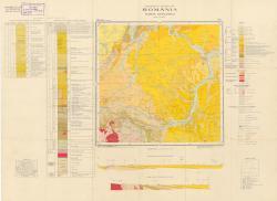 Republca socilista Romania, Harta geologica, L-34-XII, Cluj