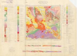 Republca socilista Romania, Harta geologica, L-34-XVII, Brad