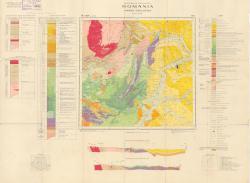 Republca socilista Romania, Harta geologica, L-34-XVIII, Turda