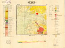 Republca socilista Romania, Harta geologica, L-34-XXII, Timisoara