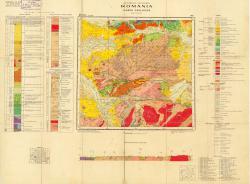 Republca socilista Romania, Harta geologica, L-34-XXIII, Deva