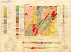 Republca socilista Romania, Harta geologica, L-34-XXIX, Bala de Arama