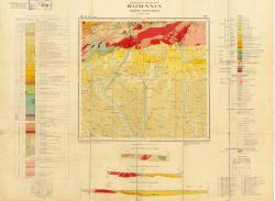 Republca socilista Romania, Harta geologica, L-34-XXX, TG. Jiu