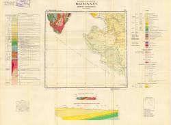 Republca socilista Romania, Harta geologica, L-34-XXXV, Turnu-Severin