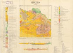 Republca socilista Romania, Harta geologica, L-35-I, Viseu