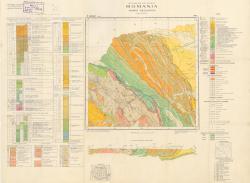 Republca socilista Romania, Harta geologica, L-35-II, Radauti