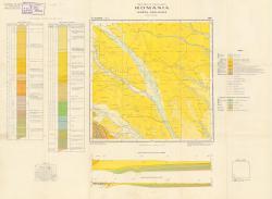 Republca socilista Romania, Harta geologica, L-35-III, Suceava