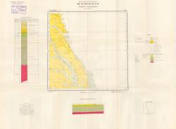 Republca socilista Romania, Harta geologica, L-35-IV, Stefanesti