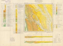 Republca socilista Romania, Harta geologica, L-35-IX, Piatra Neamt