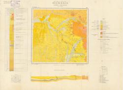 Republca socilista Romania, Harta geologica, L-35-VII, Bistrita