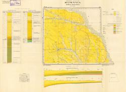 Republca socilista Romania, Harta geologica, L-35-X, Iasi